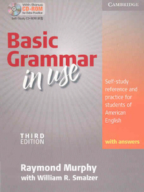 """<font title=""""Basic Grammar in Use with Answers & CD-ROM (Paperback+CD/ 3rd Ed.)"""">Basic Grammar in Use with Answers & CD-R...</font>"""