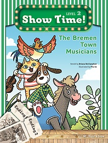 "<font title=""Show Time Level 2 SET: The bremen town musicians (Story Book + MultiRom + Workbook)"">Show Time Level 2 SET: The bremen town m...</font>"