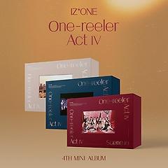 아이즈원(IZ*ONE) - One-reeler / Act Ⅳ [4th Mini Album][Scene #1+2+3 ver.][패키지][유진 예나 나..