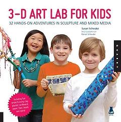 3d Art Lab for Kids (Paperback)