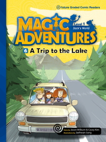 """<font title=""""Magic Adventures 1-6 A Trip to the Lake : Story Book 분권 + Audio CD:1 (Paperback)"""">Magic Adventures 1-6 A Trip to the Lake ...</font>"""