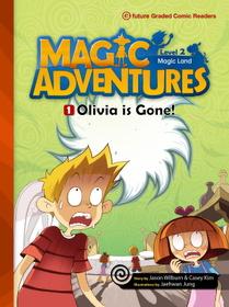 "<font title=""Magic Adventures 2-1 Olivia is Gone! : Story Book 분권 + Audio CD:1 (Paperback)"">Magic Adventures 2-1 Olivia is Gone! : S...</font>"