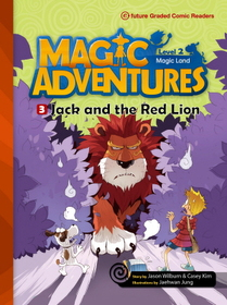 """<font title=""""Magic Adventures 2-3 Jack and the Red Lion : Story Book 분권 + Audio CD:1 (Paperback)"""">Magic Adventures 2-3 Jack and the Red Li...</font>"""