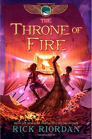 The Kane Chronicles #2 : The Throne of Fire (Paperback/ International Edition)
