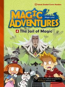 "<font title=""Magic Adventures 2-4 The Jail of Magic : Story Book 분권 + Audio CD:1 (Paperback)"">Magic Adventures 2-4 The Jail of Magic :...</font>"