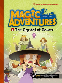 """<font title=""""Magic Adventures 2-6 The Crystal of Power : Story Book 분권 + Audio CD:1 (Paperback)"""">Magic Adventures 2-6 The Crystal of Powe...</font>"""