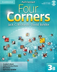 "<font title=""Four Corners Level 3B : Full Contact (Paperback+CD)"">Four Corners Level 3B : Full Contact (Pa...</font>"
