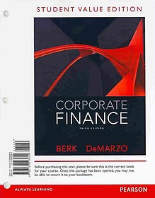 "<font title=""Corporate Finance + New Myfinancelab With Pearson Etext Access Card (Paperback)"">Corporate Finance + New Myfinancelab Wit...</font>"