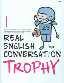 """<font title=""""Real English Conversation Trophy 1 (Paperback + CD:2)"""">Real English Conversation Trophy 1 (Pape...</font>"""