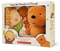 I Love You Through and Through 사랑해 사랑해 사랑해 (원서 Board Book+곰인형 포함)