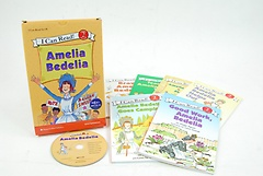 I Can Read SET 08: Amelia Bedelia (Paperback:6+MP3 CD:1)