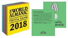 "<font title=""The World Almanac 2018 Trivia Game (Hardcover)"">The World Almanac 2018 Trivia Game (Hard...</font>"