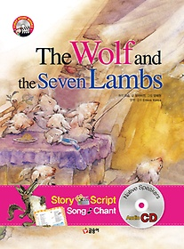 "<font title=""The Wolf and the Seven Lambs 늑대와 7마리 아기양 "">The Wolf and the Seven Lambs 늑대와 7마...</font>"