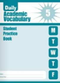 """<font title=""""Daily Academic Vocabulary Grade 5 : Student Book (Paperback)"""">Daily Academic Vocabulary Grade 5 : Stud...</font>"""