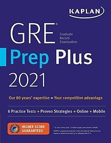 "<font title=""GRE Prep Plus 2021: 6 Practice Tests + Proven Strategies + Online + Video + Mobile (Paperback)"">GRE Prep Plus 2021: 6 Practice Tests + P...</font>"