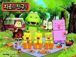 치로와 친구들 판퍼즐 (88조각)