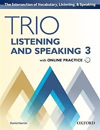 """<font title=""""Trio Listening and Speaking 3 Studentbook with Online Practice (Paperback)"""">Trio Listening and Speaking 3 Studentboo...</font>"""