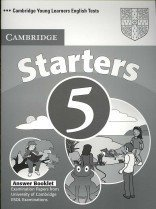 """<font title=""""Cambridge Young Learners English Tests Starters 5 Answer Booklet: Examination Papers from the University of Cambridge ESOL Examinations (Paperback) """">Cambridge Young Learners English Tests S...</font>"""