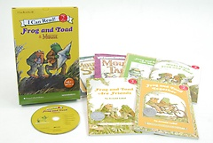 I Can Read SET 09: Frog and Toad (Paperback:6+MP3 CD:1)