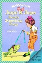 "<font title=""Junie B. Jones Smells Something Fishy (Prebind / Reprint Edition)"">Junie B. Jones Smells Something Fishy (P...</font>"