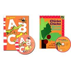"<font title=""노부영 베스트 ABC 2종: Chicka Chicka Boom Boom+Dr. Seuss"