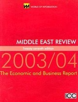 Middle East Review 2003/2004 (Paperback)