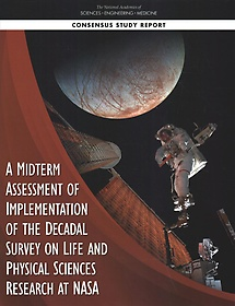 """<font title=""""A Midterm Assessment of Implementation of the Decadal Survey on Life and Physical Sciences Research at Nasa (Paperback)"""">A Midterm Assessment of Implementation o...</font>"""