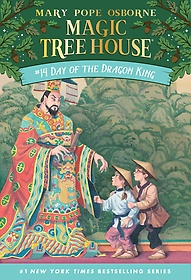 Magic Tree House #14 : Day Of The Dragon-King (Paperback)