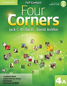 "<font title=""Four Corners Level 4A : Full Contact (Paperback+CD)"">Four Corners Level 4A : Full Contact (Pa...</font>"