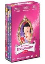 월트디즈니 베스트 애니메이션 핑크세트 - DVD