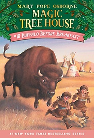 Magic Tree House #18 : Buffalo Before Breakfast (Paperback)