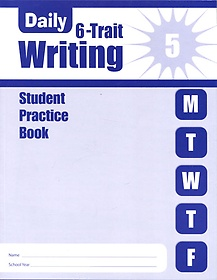 """<font title=""""Daily 6-Trait Writing Grade 5 : Student Practice Book (Paperback)"""">Daily 6-Trait Writing Grade 5 : Student ...</font>"""
