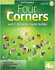 "<font title=""Four Corners Level 4B : Full Contact (Paperback+CD)"">Four Corners Level 4B : Full Contact (Pa...</font>"