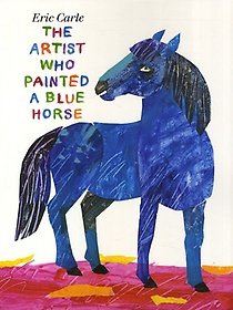 """<font title=""""[노부영] The Artist Who Painted a Blue Horse (Board Book+CD)"""">[노부영] The Artist Who Painted a Blue H...</font>"""