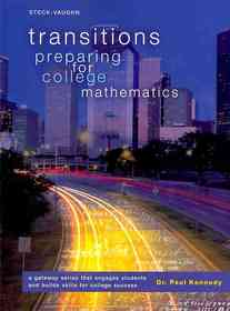 "<font title=""Transitions: Preparing for College Mathematics (Paperback)"">Transitions: Preparing for College Mathe...</font>"