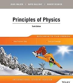 Principles of Physics (Paperback/10th Ed.)