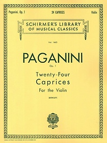 Paganini Violin 24 Caprices, Op.1