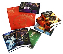 "<font title=""Harry Potter Box Set: The Complete Collection (Hardcover:7)"">Harry Potter Box Set: The Complete Colle...</font>"