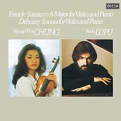 프랑크 & 드뷔시: 바이올린 소나타 - 정경화, 루푸 [180g LP]