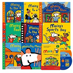 "<font title=""[세이펜BOOK] A Maisy First Experiences Book and More! 메이지 영어그림책 8종 : SET B (Paperback + Audio CD 증정)"">[세이펜BOOK] A Maisy First Experiences B...</font>"