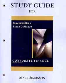 "<font title=""Study Guide for Corporate Finance (Paperback / 2nd Ed.)"">Study Guide for Corporate Finance (Paper...</font>"