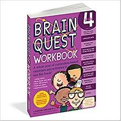 Brain Quest Grade 4 : Workbook (Paperback)