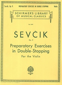 "<font title=""Sevcik : Violin Preparatory Exercises in Double -Stopping Op. 9"">Sevcik : Violin Preparatory Exercises in...</font>"