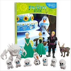 """<font title=""""Disney Frozen Fever: My Busy Book (Board Book+피규어포함)"""">Disney Frozen Fever: My Busy Book (Board...</font>"""