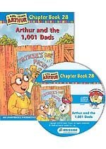 Arthur Chapter Book 28. Arthur and the 1,001 Dads (Paperback + CD)