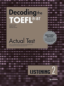 "<font title=""Decoding the TOEFL iBT Actual Test LISTENING 2 (New TOEFL Edition)"">Decoding the TOEFL iBT Actual Test LISTE...</font>"