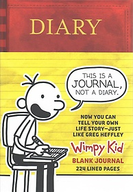 """<font title=""""Diary of a Wimpy Kid Blank Journal/Diary of a Wimpy Kid Do-it-yourself Book Bundle (Hardcover)"""">Diary of a Wimpy Kid Blank Journal/Diary...</font>"""