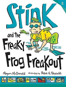 """<font title=""""Stink and the Freaky Frog Freakout (Paperback)"""">Stink and the Freaky Frog Freakout (Pape...</font>"""