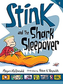 """<font title=""""Stink #9: Stink and the Shark Sleepover (Paperback/ Reprint Edition)"""">Stink #9: Stink and the Shark Sleepover ...</font>"""