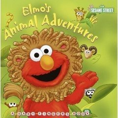 Elmo's Animal Adventures (Board book)